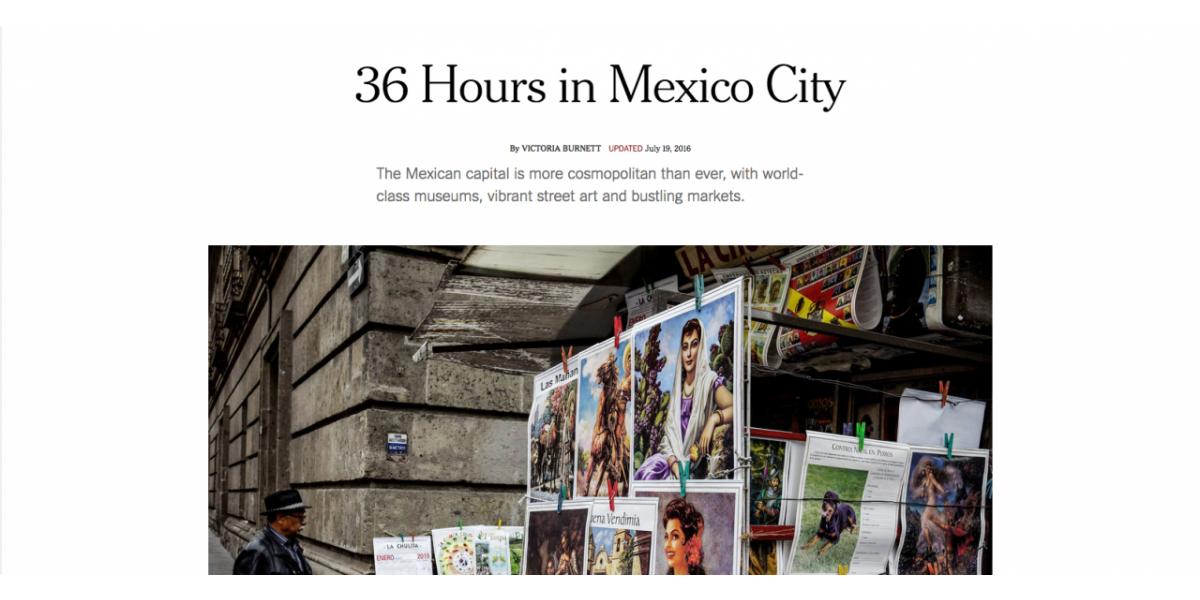 36 Hours in Mexico City