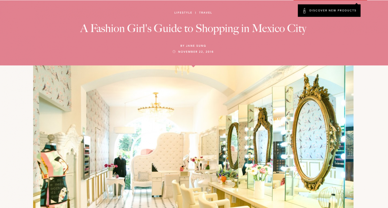 A Fashion Girl's Guide to Shopping in Mexico City