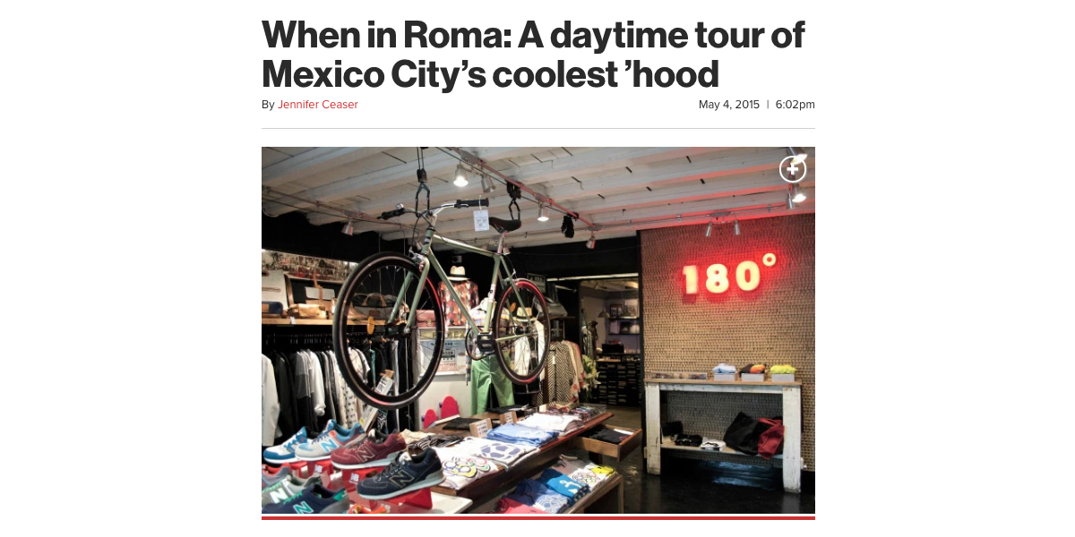 When in Roma: A daytime tour of Mexico City's coolest 'hood